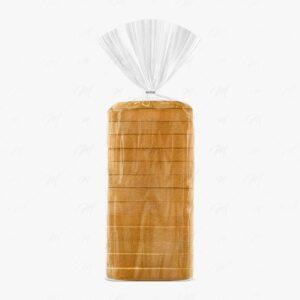 mockup embalagem de pão de forma