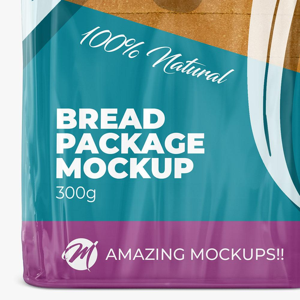 bread bag mockup