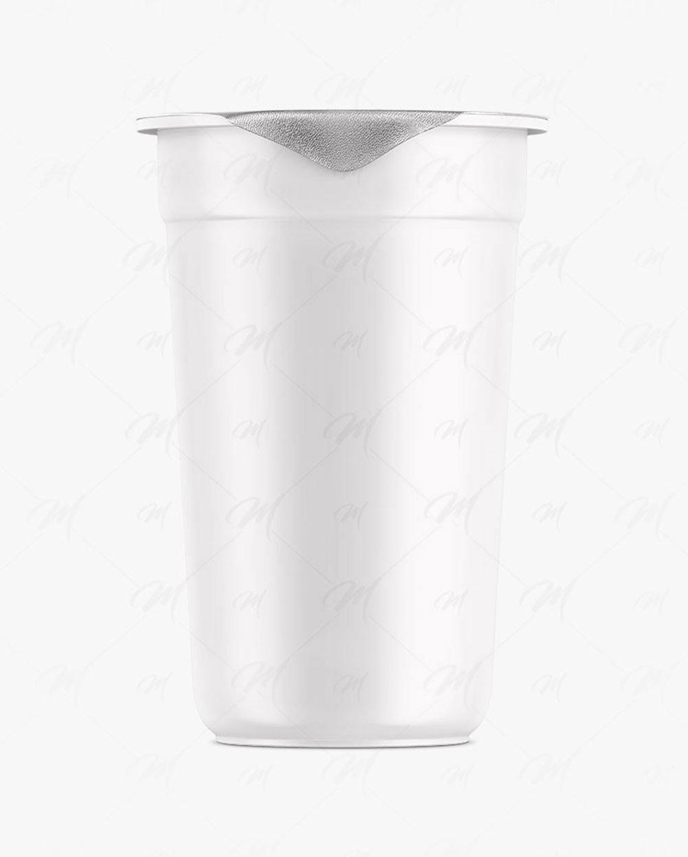 mockup de copo de plástico