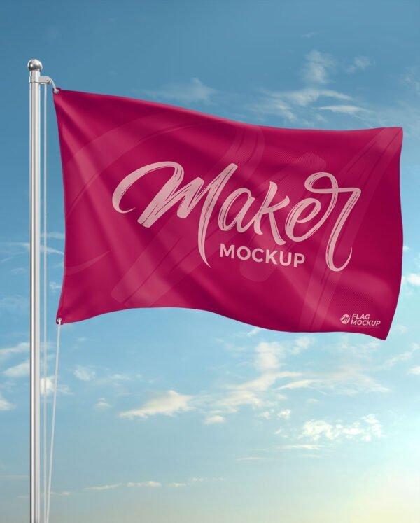mockup flag