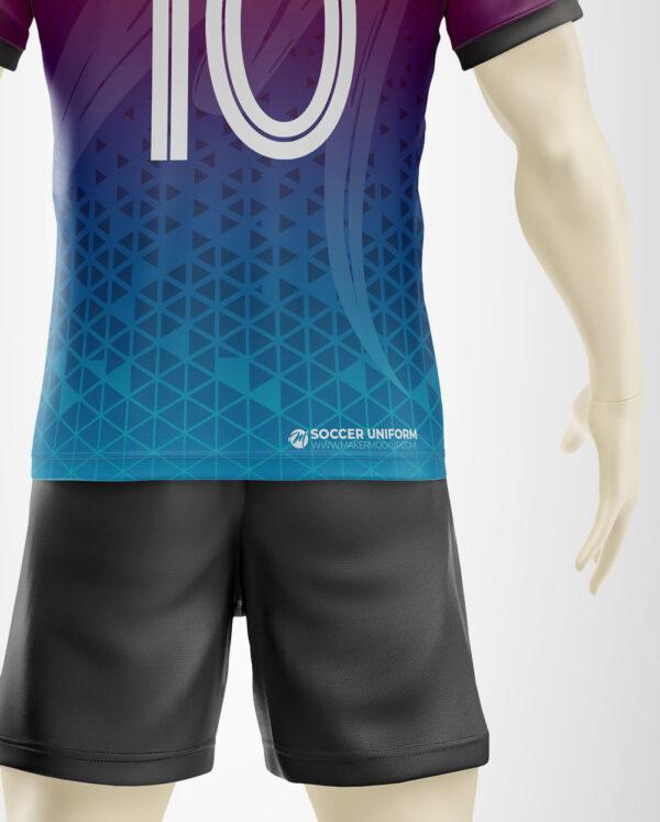mockup soccer uniform