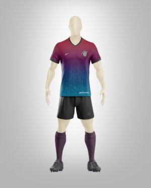 soccer uniform mockup