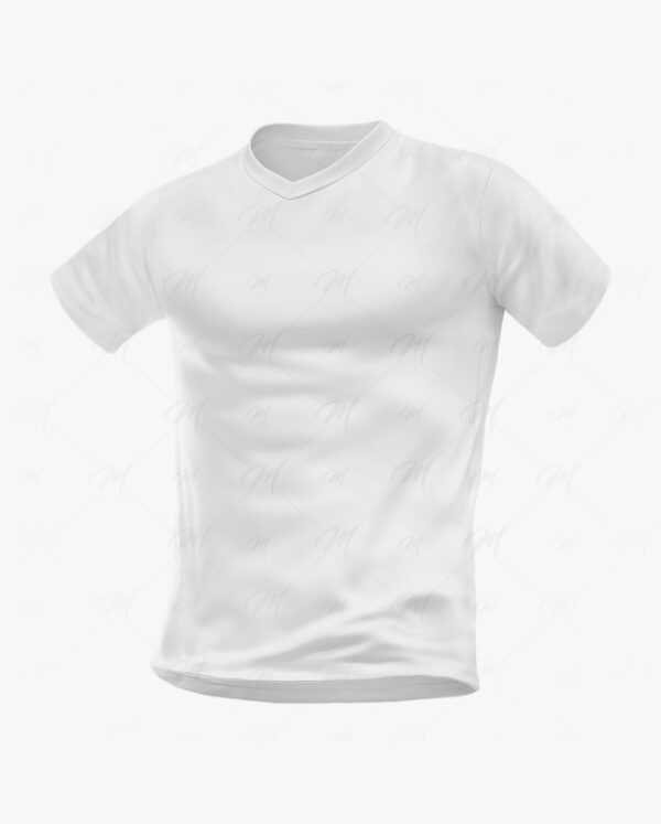 camiseta gola v mockup