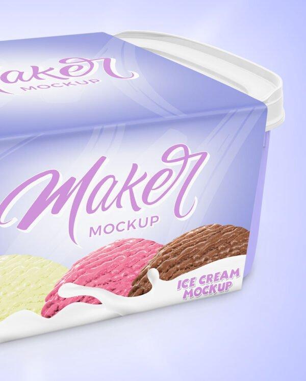Mockup-embalagem de-sorvete